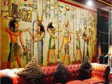 Wall Mural Painting Singapore Egyptian Wall Painting Vintage Wallpaper Custom 3d Wall Murals