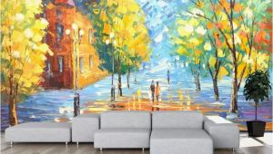 Wall Mural Paintings Abstract 3d Abstract Colorful Woods Wallpaper Removable Self
