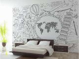 Wall Mural Paintings Abstract Us $15 14 Off Custom 3d Photo Wallpaper Kids Room Mural Abstract World Map Photo Painting Tv sofa Background Non Woven Wallpaper for Wall 3d In