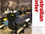 Wall Mural Printer Machine Australian Printer September 2018 by the Intermedia Group