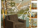 Wall Mural Projector Winter Woods Tapestry Let S Make something Pinterest