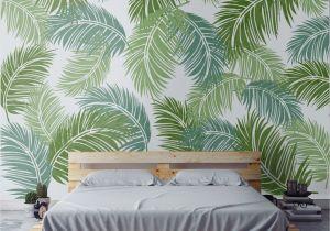 Wall Mural Stencil Kits Tropical Palm Leaf Stencil In 2019 Patterns Pinterest