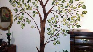 Wall Mural Stencils Tree Leafy Tree Stencil Walltowallstencils