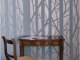 Wall Mural Stencils Tree New Bare Trees Stencil Murals Pinterest