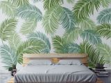 Wall Mural Stencils Tree Tropical Palm Leaf Stencil