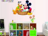 Wall Mural Stickers Australia Decor Kafe Mickey Mouse Wall Decals Sticker Kids Nursery Decor Wall Stickers