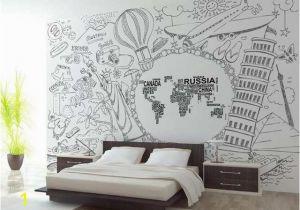 Wall Mural Stickers Canada Us $15 14 Off Benutzerdefinierte 3d Fototapete Kinderzimmer Mural Abstrakte Weltkarte Foto Malerei Tv sofa Hintergrund Vliestapete Für Wand 3d In