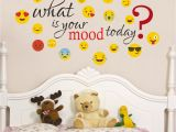 Wall Mural Stickers Singapore Buy Creatick Studio What is Your Mood today Smiley Wall