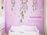 Wall Mural Stickers Singapore Buy Generic Wall Sticker Dream Catcher Feather Art Wall