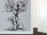 Wall Mural Tree Of Life Details About Halloween Skeleton Wall Decal Removable Vinyl