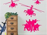 Wall Murals Amazon Uk Army Helicopter Military sol Rs Apache Swat Wall Decorations Window Stickers Wall Decor Wall Stickers Wall Art Wall Decals Stickers Wall Decal