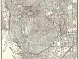 Wall Murals Buffalo Ny 1943 Antique Buffalo Street Map Vintage City Map Of Buffalo