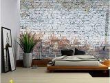 Wall Murals by Wall 26 Wall26 Grey Brick Wall Removable Wall Mural