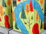 Wall Murals Calgary Pin by Barbie Hunt On Painted Trash Recycle Bins In 2018