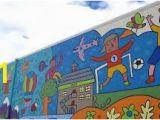 Wall Murals Calgary Sunalta School Mural Calgary Art