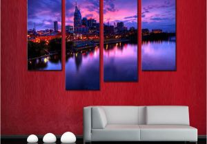 Wall Murals Cityscapes 2019 4 Picture Bination Canvas Painting Wall Art the Picture for