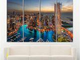 Wall Murals Cityscapes Dubai Canvas Dubai Wall Art Dubai Print Dubai Wall Decor Cityscape
