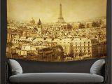 Wall Murals Eiffel tower Amazon Vipsung House Decor Tapestry Eiffel tower Decor
