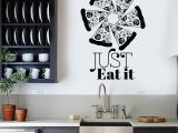 Wall Murals for A Kitchen Vinyl Wall Decal Pizzeria Art Mural Pizza Funny Quote Food