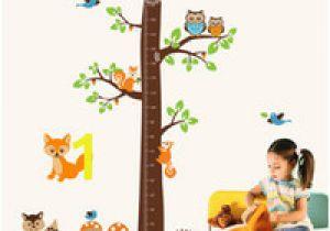 Wall Murals for Baby Boy Nursery Nette Maßnahme Höhe Wandaufkleber Aufkleber Kinder Selbstklebende Vinyl Tapete Wandbild Baby Mädchen Junge Zimmer Kinderzimmer Dekor