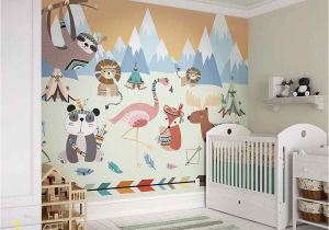 Wall Murals for Baby Girl Nursery Fototapeta Animal Reservation In 2019 for David
