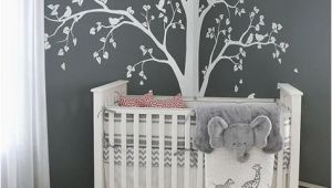 Wall Murals for Baby Rooms Tree Decal Huge White Tree Wall Decal Stickers Corner Wall