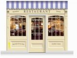 Wall Murals for Dementia Units 3 Drop Skipton Shop Front Restaurant Mural 280cm Door