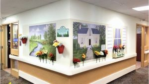 Wall Murals for Dementia Units Tub Rooms and Other Imagery