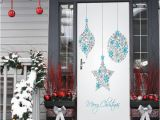 Wall Murals for Dorms Self Adhesive Merry Christmas Day Door Stickers Decals Diy Dorm Room Decoration Renovation Removable Pvc Wallpaper Poster Chandelier Wall Decal Cheap