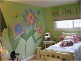Wall Murals for Girls Bedroom Flower Girls Room Mural Ideas