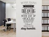 Wall Murals for Home Office Work Hard Teacher