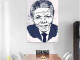 Wall Murals for Living Room India Buy Furnish Marts Nelson Mandela Extra Unframe Jumbo