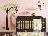 Wall Murals for Nursery Ideas Wall Decals for Kids Monkeys On the Tree Kids Wall