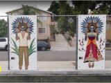 "Wall Murals for Schools Carlos Nieto Iii ""boy and Girl"" as Seen In Los Angeles In 2018"