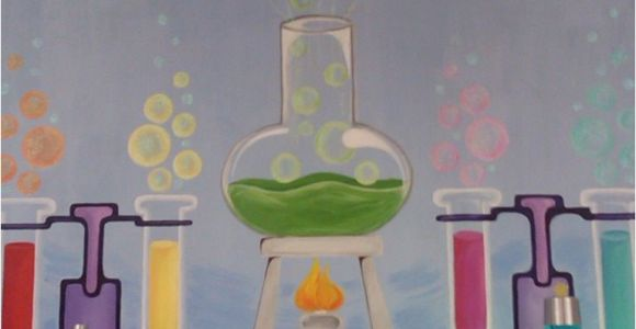 Wall Murals for Schools My Science Mural My Bulletin Boards 3 Pinterest