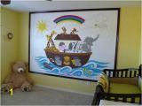 Wall Murals for Sunday School Rooms Noah S Ark Paint by Number Wall Mural
