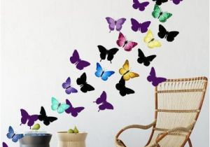 Wall Murals for Teens Artsy butterfly Decor Wall Decals 30 Stickers Products