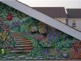 Wall Murals Garden Scenes Exterior Wall Murals