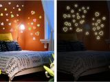 Wall Murals Glow In the Dark Us $1 69 Off Diy Colorful Loving Heart Night Glow In the Dark Luminous Wall Stickers Home Decor for Kids Bedroom Removable Art Wall Decal In Wall