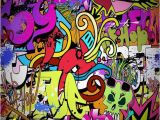 Wall Murals Graffiti Style Graffiti Wall Backdrop Puter Printed Graphy