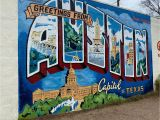Wall Murals In Austin Tx Greetings From Austin Mural 2020 All You Need to Know