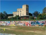 """Wall Murals In Austin Tx Wall at the top and """"castle"""" House Picture Of Graffiti"""