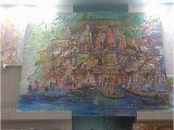 Wall Murals In Bangalore Ruchika Art Gallery Varanasi Aktuelle 2020 Lohnt Es
