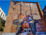 Wall Murals In Glasgow Glasgow Scotland the Hip Hop Marionettes Were Made by