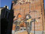 Wall Murals In Glasgow Marionetas Hip Hop Picture Of City Centre Mural Trail