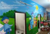 Wall Murals In Hyderabad Wall Painting for Pre Primary School Hyderabad Wall Art for