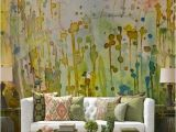 Wall Murals In La Watercolor Wall Via La Maison Boheme Fice