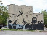 Wall Murals In Maryland Chris Stain Boy On A Bike Open Walls Mural Project