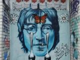 Wall Murals In Nyc Streetart Graffiti Newyork Nyc Ny Johnlennon Peacenow
