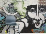 Wall Murals In Pakistan Graffiti Face Graffiti Square Wall Murals